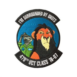 lion-embroidery-round-patch